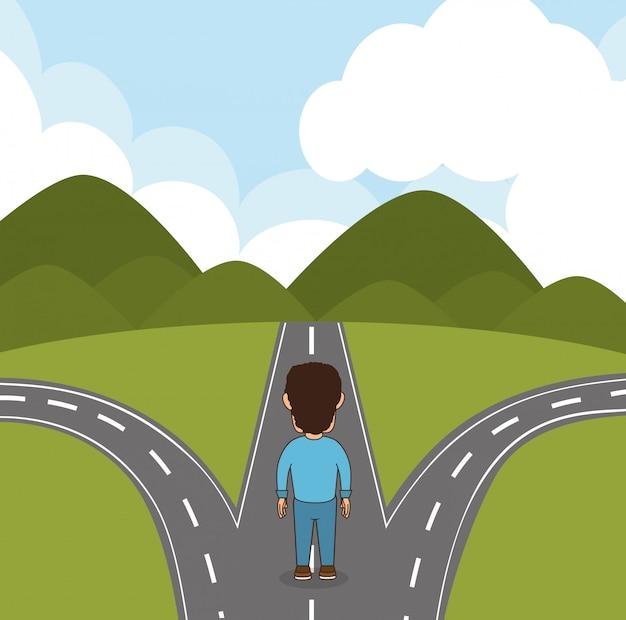 Straßen und wege design