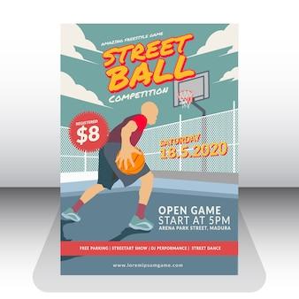 Straßenball-wettbewerb