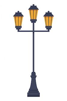 Straßenlaterne-symbol