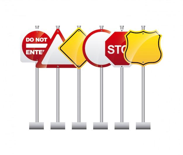 Straßensignaldesign