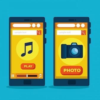 Strategie für den online-verkauf von smartphones-websites