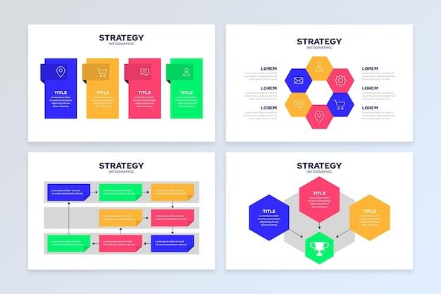 Strategie infografik