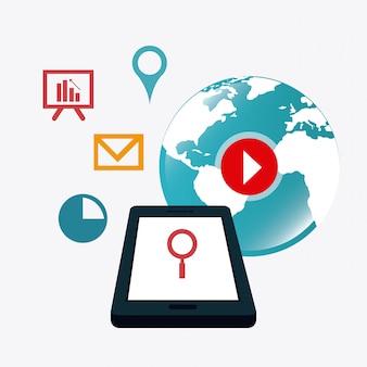 Strategien für digitales und soziales marketing
