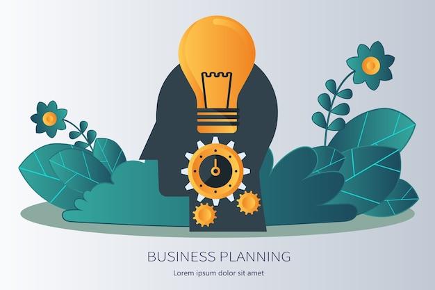 Strategische planung und ideen