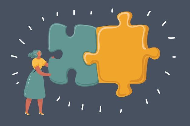 Strategisches management und geschäftslösungen