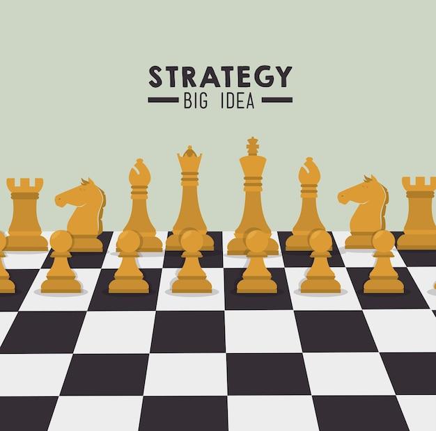 Strategisches planungsdesign.