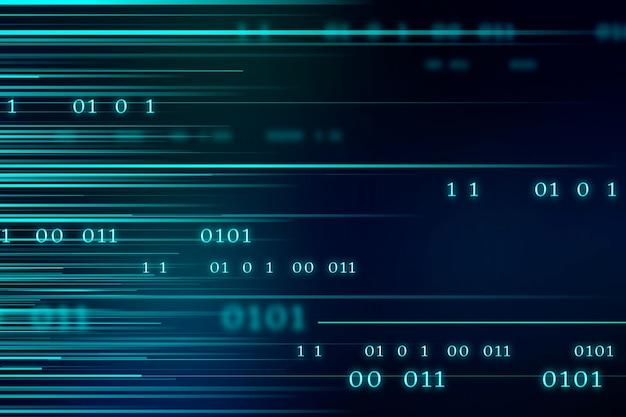 Stream des binärcode-designs