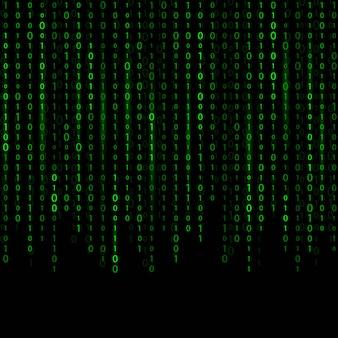 Stream von binärcode
