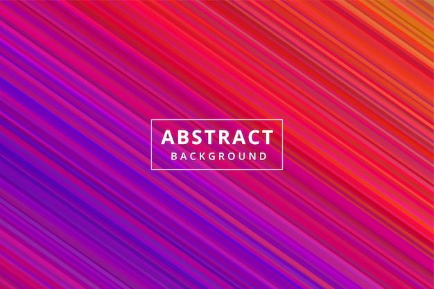 Streifen abstrakte hintergrundtapete premium-vektor