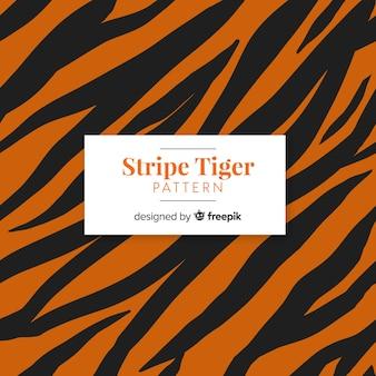 Streifen-tiger-muster