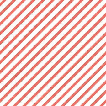 Streifenmuster in der farbe living coral. abstrakter geometrischer hintergrund. farbe des jahres 2019. illustration im luxuriösen und eleganten stil