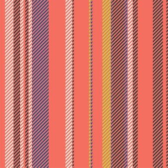 Streifenvektor nahtloses muster. gestreifter hintergrund der bunten linien.
