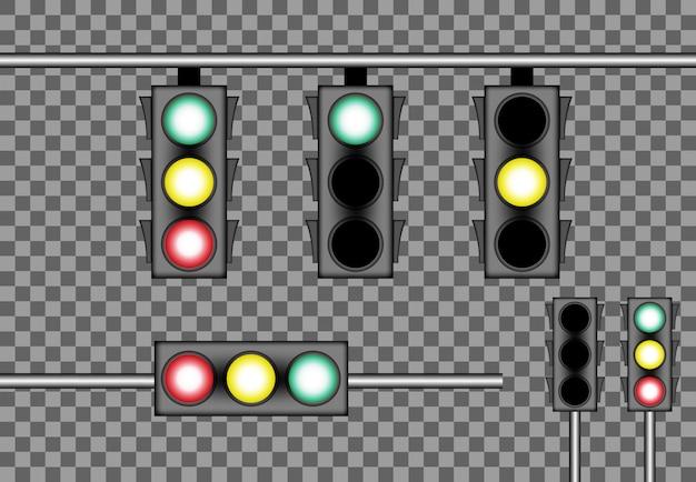Stret light-vektorschablonengeschäfts-illustrationsturm leer