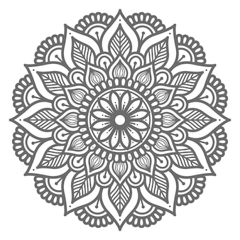 Strichzeichnungen mandala
