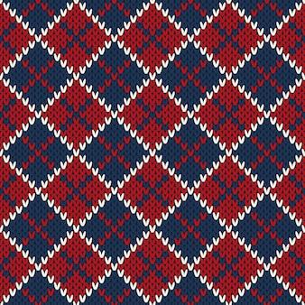 Strickpullover-muster der winterferien. wollstrick textur imitation