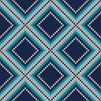 Strickpullover-muster. nahtloser hintergrund. wollstrick textur imitation