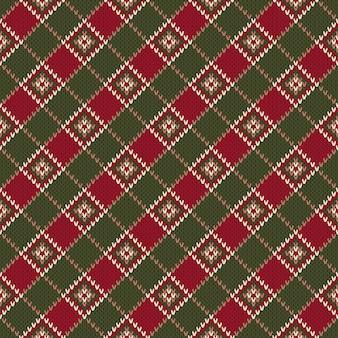 Strickwolle pullover design. schema für strickpullover-musterdesign oder kreuzstichstickerei.