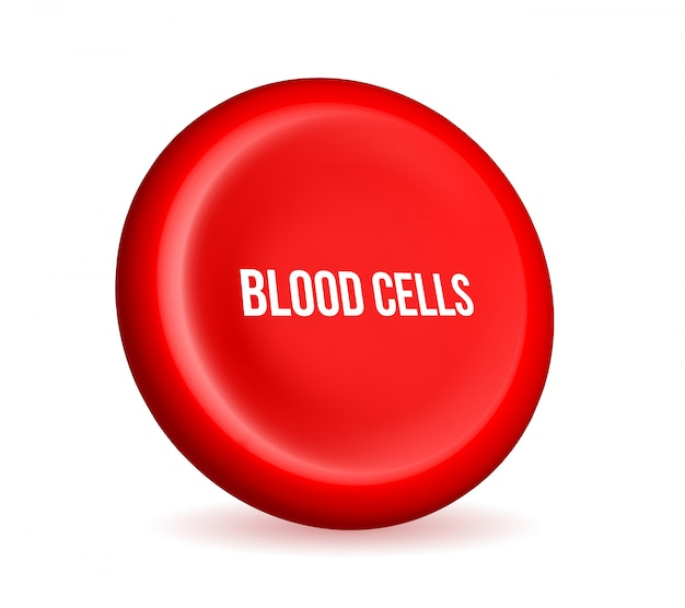 Strom der roten blutkörperchen, medizinischer erythrozyten.