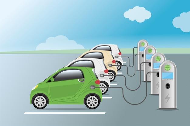 Stromversorgung für das aufladen von elektroautos