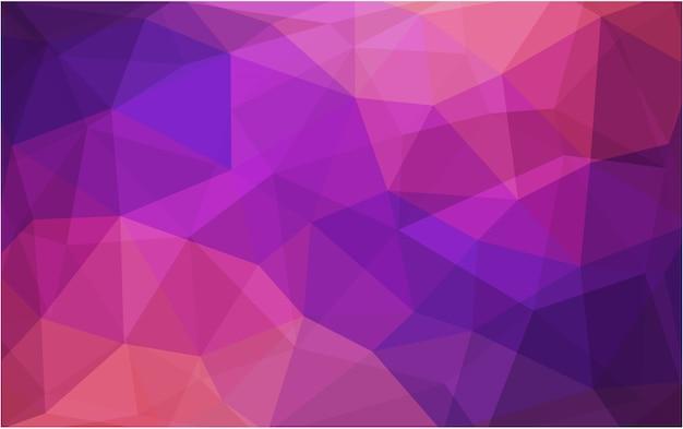 Strukturierter polygonaler hintergrund der gelben vektorzusammenfassung