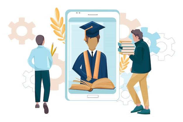 Student graduation mobile-anwendung
