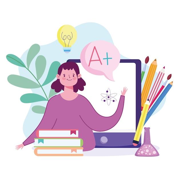 Student online lernen