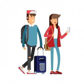 Studenten reisen berufungszeit