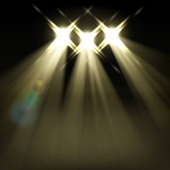 Studio spotlights hintergrund