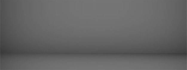 Studiohintergrund mit platz für text, schwarzer leerer raum, für anzeigeprodukte, horizontal, illustration.