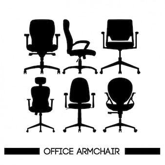 Stühle silhouetten