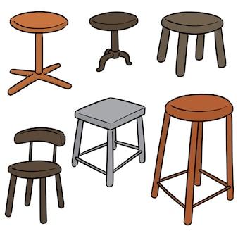 Stuhl gesetzt