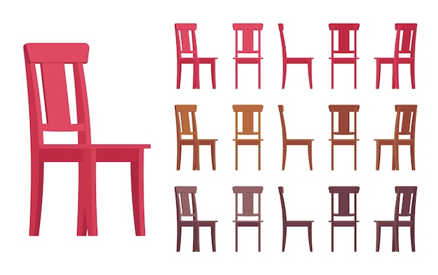 Stuhl interieur set