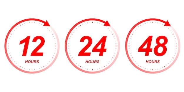 Stunden uhr pfeil