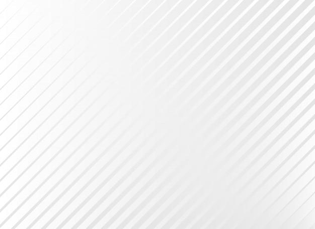 Subtiler weißer hintergrund mit diagonalen linien