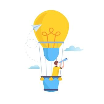 Suche nach großer idee