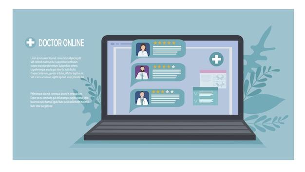 Suchen und wählen sie online einen arzt für medizinische versorgung