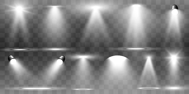 Suchscheinwerfersammlung für bühnenbeleuchtung