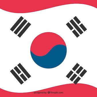Südkorea-Flagge