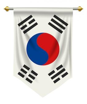 Südkorea-Wimpel