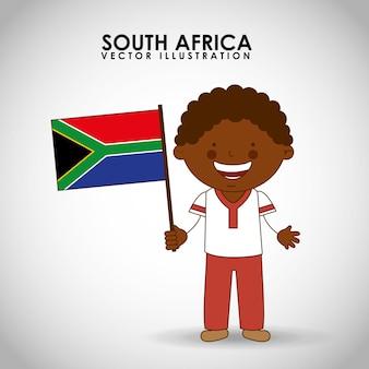 Südafrikanisches kind