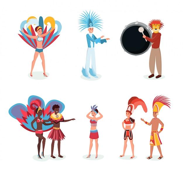 Südamerikanischer karneval