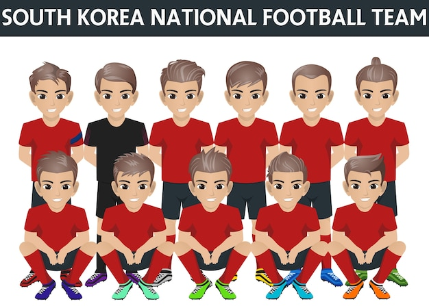 Südkorea nationalmannschaft für internationales turnier