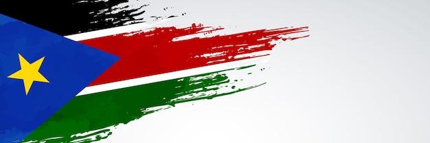 Südsudan banner flagge