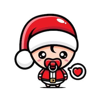 Süße baby santa claus designs