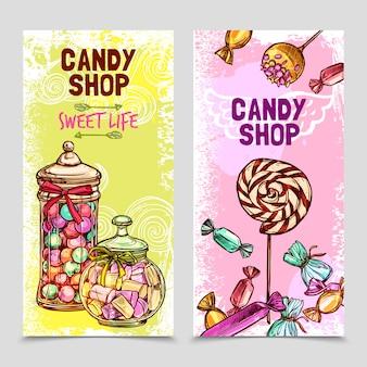 Süße banner-set