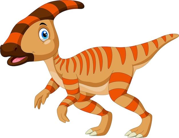 Süße dinosaurier-cartoon