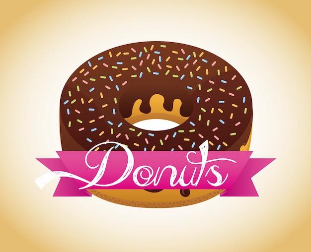 Süße donuts