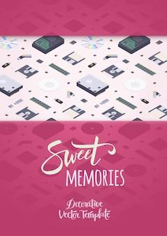 Süße erinnerungen schmücken