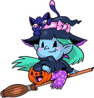 Süße hexe