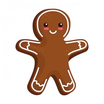 Süße ingwer-cookie-symbol